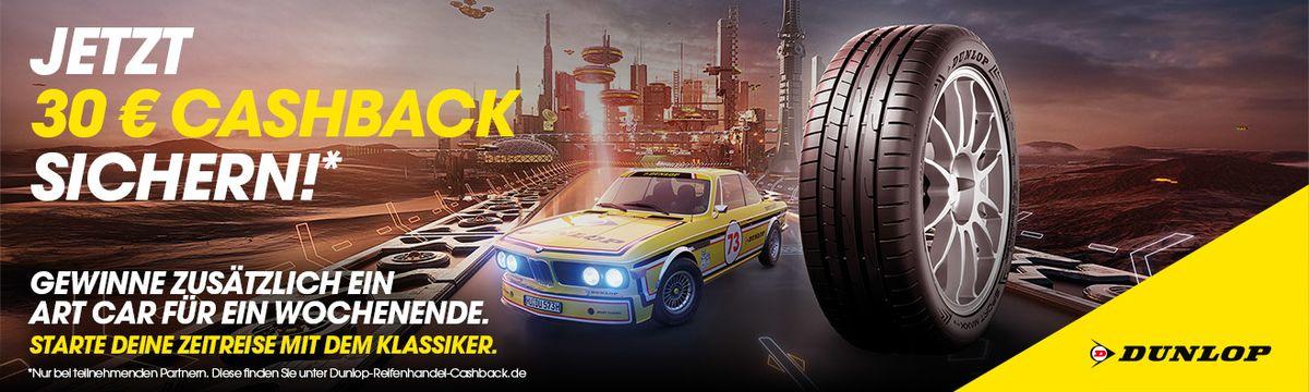 Dunlop Reifen kaufen und 30 Euro Cashback sichern!